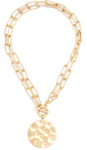 Double Strand Gold Coin Necklace
