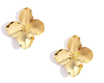 Garden Party Statement Earring, Gold