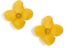 Garden Party Statement Earring, Honey